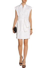 Moschino Cotton-blend shirt dress