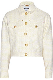 Moschino Bouclé-tweed jacket
