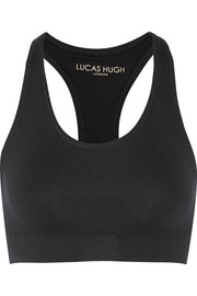 Technical Knit stretch sports bra