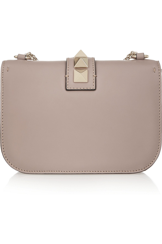 Valentino Valentino Garavani Lock small leather shoulder bag