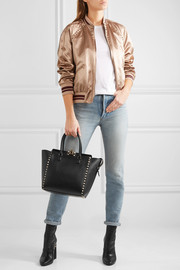 The Rockstud medium leather tote