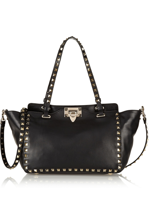 Valentino Valentino Garavani The Rockstud small leather trapeze bag