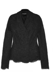 Dolce & Gabbana Cotton-blend lace jacket