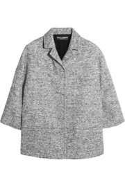 Wool-blend tweed jacket