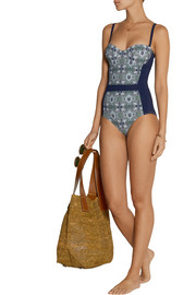 Laguna printed swimsuit
