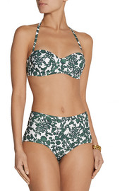 Tory Burch Issy printed underwired bikini