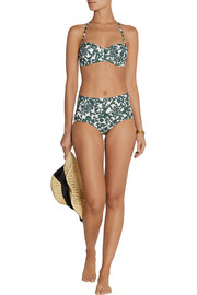 Issy printed underwired bikini
