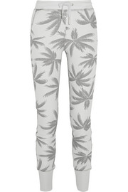Misfits printed cotton-blend jersey track pants
