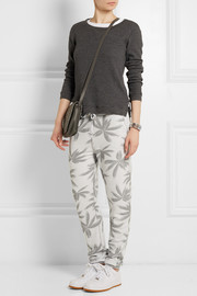 Zoe Karssen Misfits printed cotton-blend jersey track pants