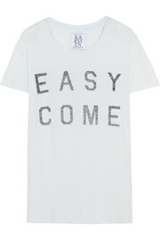 Easy Come Easy Go cotton and modal-blend T-shirt