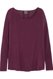 Oversized modal-blend top