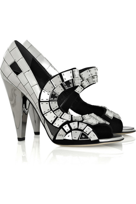 Thakoon | Mirror mosaic strappy sandals | NET-A-PORTER.COM from net-a-porter.com