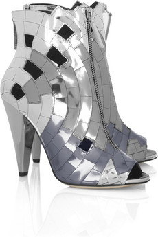 ThakoonMirror mosaic ankle boots