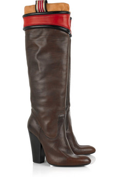Vivienne Westwood Leather round-toe boots