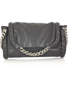 Yves Saint Laurent Nappa leather clutch
