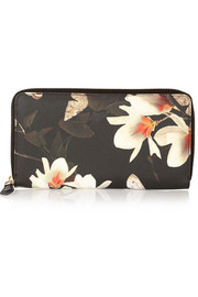 Givenchy Continental wallet in printed coated canvas