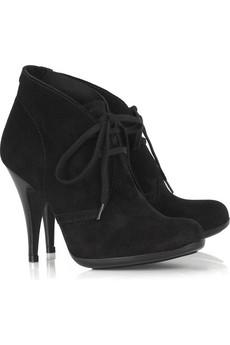Pedro Garcia Dorice suede lace-up shoe boots