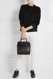 Alexander McQueen The Heroine small leather tote