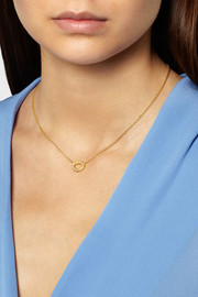 Yossi Harari Melissa 18-karat gold diamond necklace