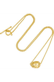 Helen 18-karat gold diamond necklace