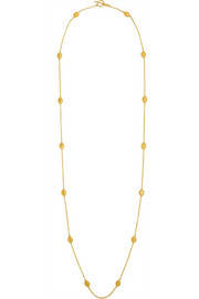 Roxanne 18-karat gold necklace