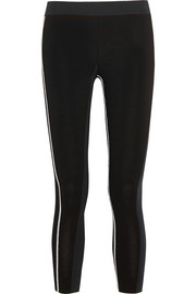 Fendi Cropped stretch-jersey leggings