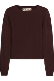 Marni Cropped cashmere sweater