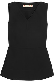 Marni Cotton peplum top