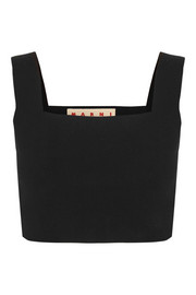 Marni Cropped cotton top