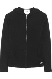 Uber cashmere hooded top