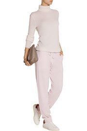 Beach cashmere track pants