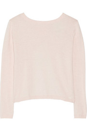 Manhattan cotton and cashmere-blend sweater