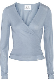 Banjo & Matilda Ballet silk and cashmere-blend wrap cardigan