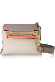Clare mini leather shoulder bag