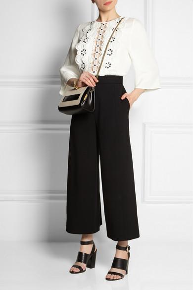 replica chloe bags uk - chloe elle leather shoulder bag, chloe pumps online
