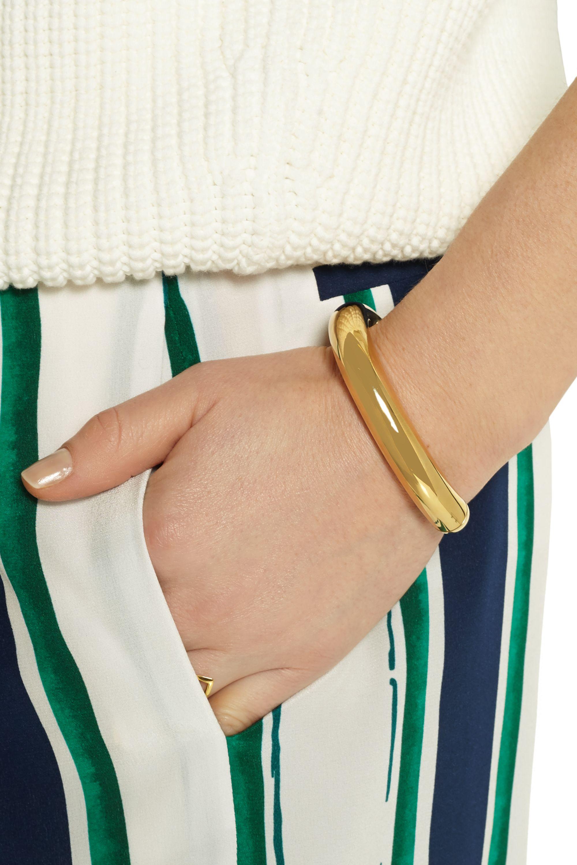 Chloé Ellie gold-tone cuff