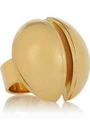 Ellie gold-tone ring