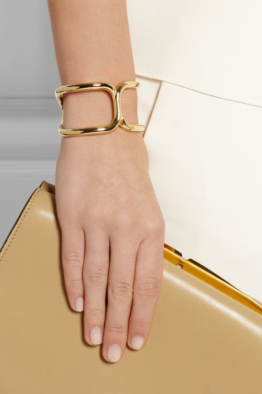 Chloé Marcie gold-tone cuff