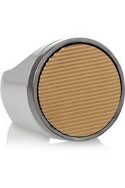 Givenchy Ring in gold and palladium-tone brass