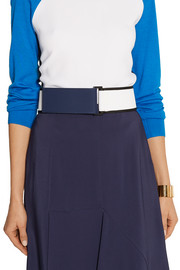 Marni Mesh and tech-jersey waist belt
