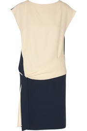 Chloé Color-block cady dress