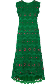 Chloé Guipure lace midi dress