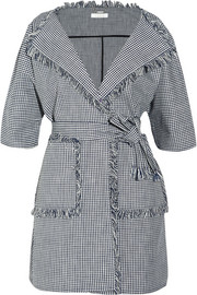 Chloé Checked cotton jacket