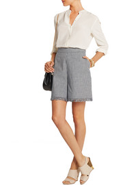 Chloé Gingham cotton shorts