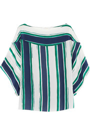 Chloé Striped silk top