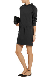 Atlantique Ascoli Slub cotton and linen-blend mini dress