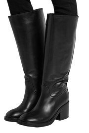 Egor leather knee boots