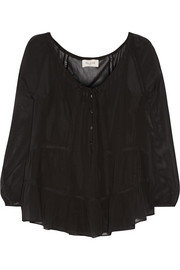 Paul & Joe Borabor silk-chiffon blouse