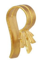 Frey gold-plated ear cuff
