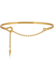Maria Black Loop gold-plated bracelet
